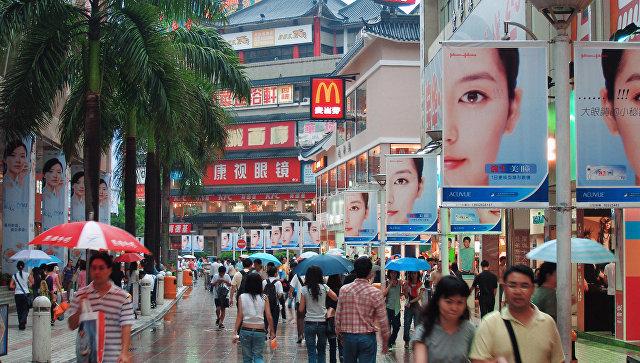 Квартал Дунмэнь в Шэньчжэне, Китай