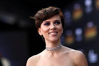 Американская актриса Скарлетт Йоханссон