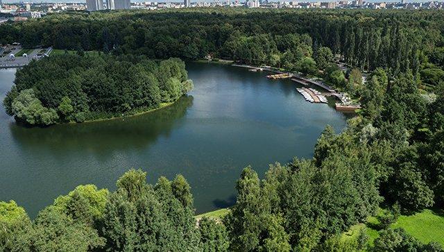 Серебряно-Виноградный пруд в парке Измайлово