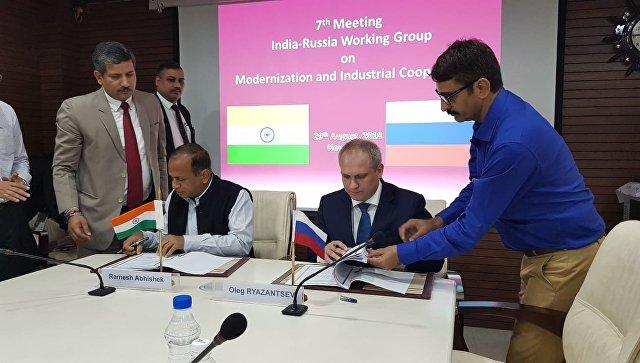 Россия и Индия обсудили сотрудничество в сфере производства удобрений