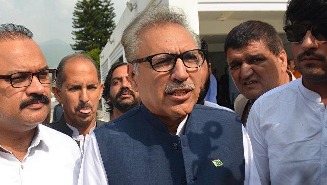 Ариф Алви в Исламабаде, Пакистан. 4 сентября 2018