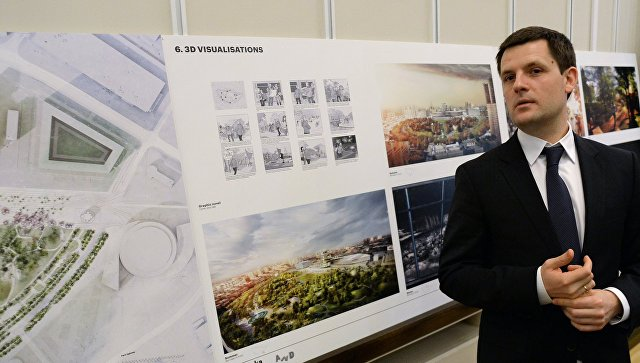 Главный архитектор Москвы Сергей Кузнецо