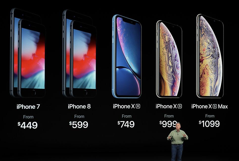 Презентация новых смартфонов Apple iPhone XS, iPhone XS Max и iPhone XR. 12 сентября 2018 года