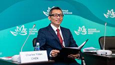 Соучредитель телекоммуникационного гиганта Tencent, основатель крупнейшей в мире премии в сфере образования Yidan Prize Чарльз Чэнь Идань