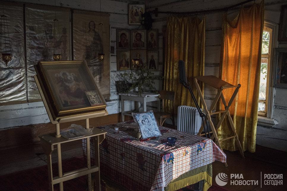 В доме Татьяны много икон: какие-то подарили родные, какие-то купила сама.