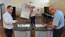 Подготовка к выборам в Приморском крае. Архивное фото