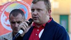 Кандидат в губернаторы от КПРФ, депутат Законодательного собрания Приморья Андрей Ищенко. Архивное фото