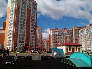 Новый микрорайон Томска