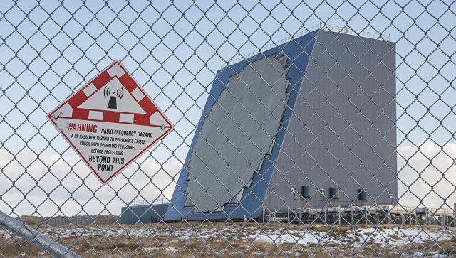 Радар объединенного командования аэрокосмической обороны Северной Америки NORAD на Аляске