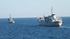 Корабли ВМСУ в Азовском море. Архивное фото