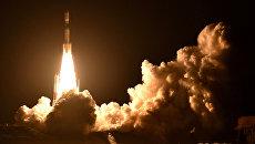 Старт ракеты H2B с космическим грузовиком Конотори-7 с космодрома Танегасима, Япония. 23 сентября 2018