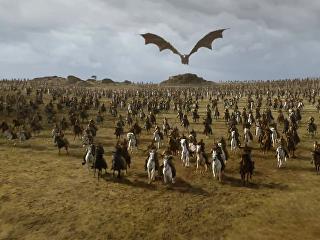 Кадр из сериала Игра престолов (7-ой сезон)