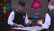 Чемпионат мира по скоростной сборке кубика Рубика Red Bull Rubik's Cube