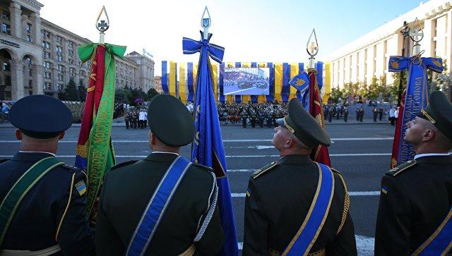 Репетиция военного парада в Киеве. Архивное фото