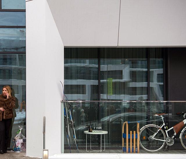Комплекс апартаментов Тетрис на территории инновационного центра Сколково в Москве
