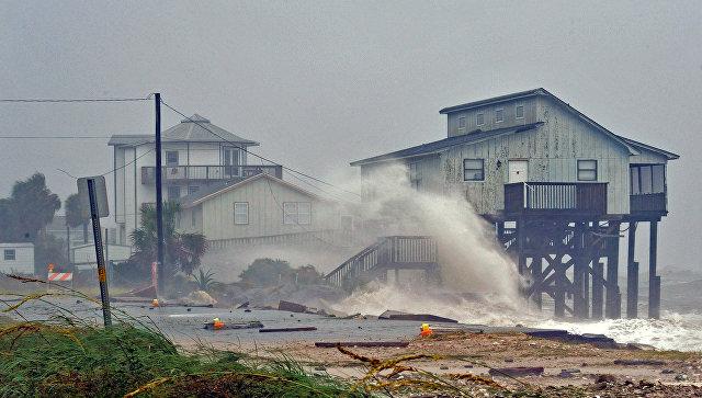 Ураган Майкл в штате Флорида, США. 10 октября 2018