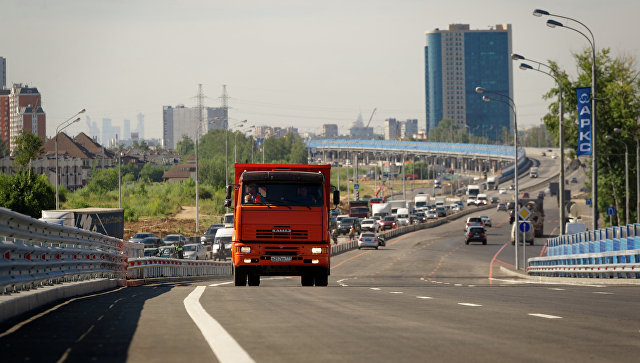 Открытие эстакады на Дмитровском шоссе