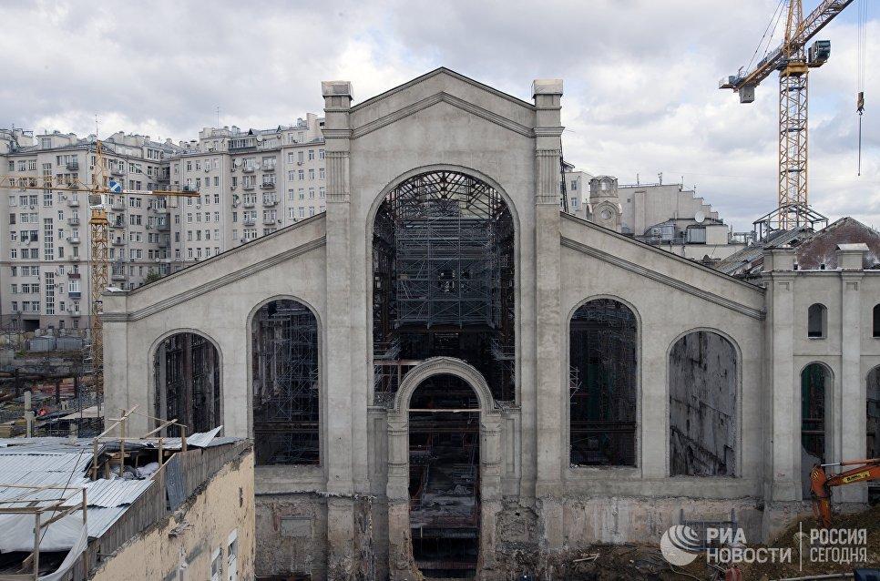 Реконструкция исторического здания ГЭС-2 под Академию современного искусства в Москве