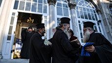 Служители Константинопольского патриархата в Стамбуле. Архивное фото