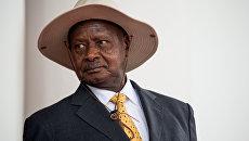 Президент Уганды Йовери Мусевени. Архивное фото
