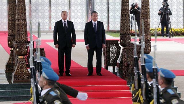 Путин и Мирзиеев договорились создать комиссию в сфере экономики
