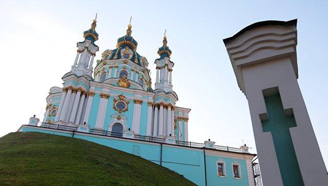 Андреевская церковь. Архивное фото
