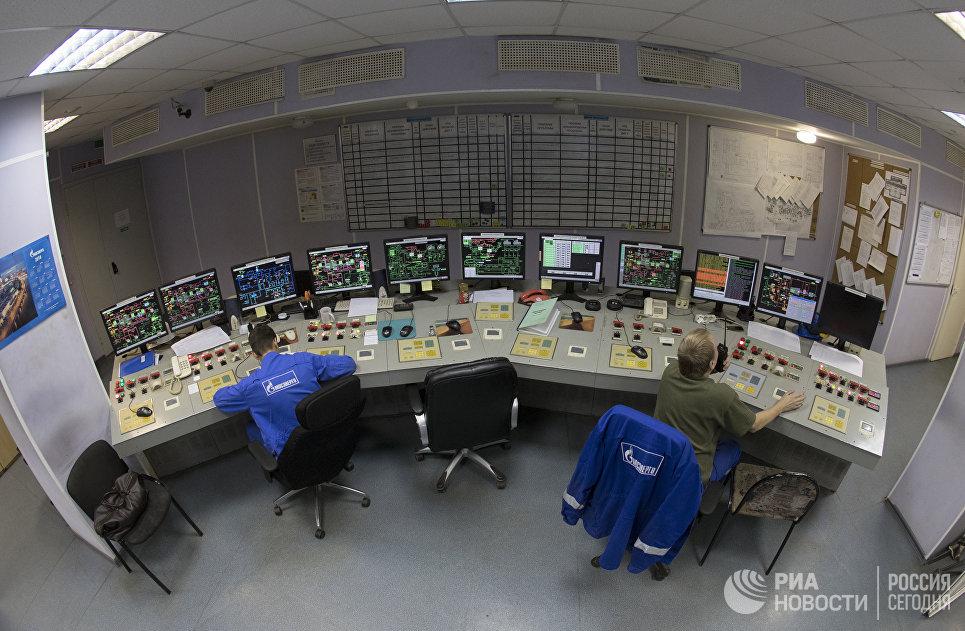 Центральный тепловой щит управления ГЭС-1