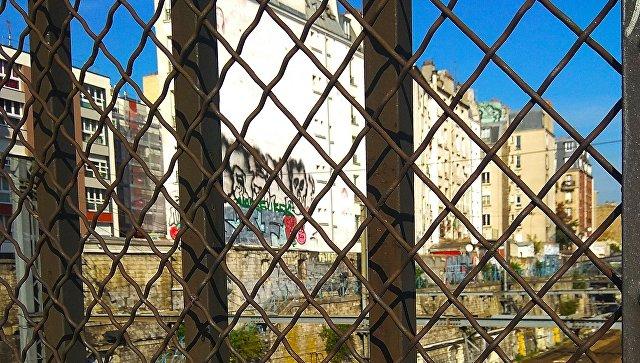 Район Барбес в Париже.