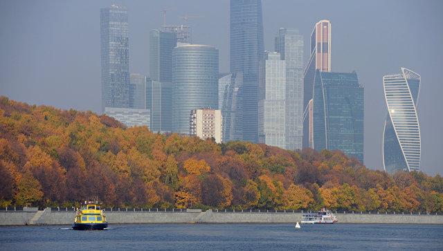 Теплоходы в акватории Москва-реки