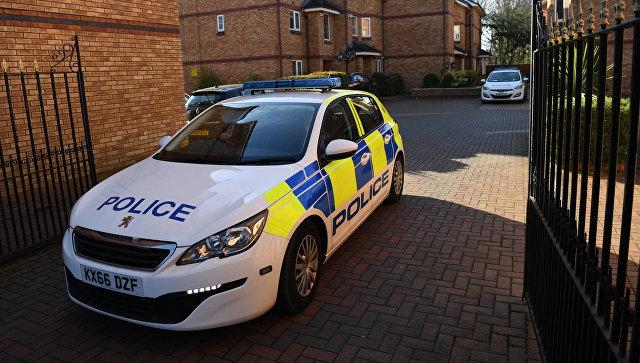 Автомобиль полиции Великобритании. Архивное фото