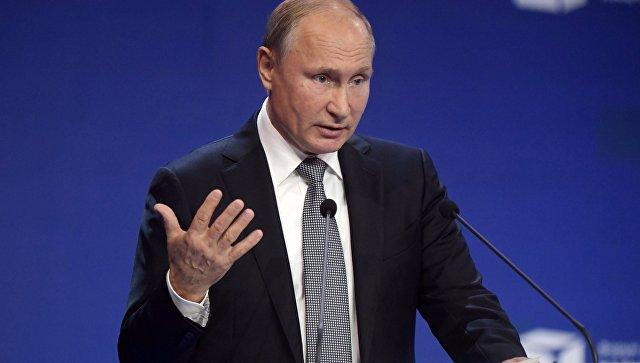 Путин призвал ужесточить контроль за компаниями в сфере безопасности