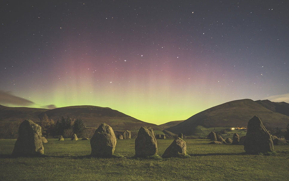 Работа фотографа Matthew James Turner Castlerigg Stone Circle. Конкурс Insight Astronomy Photographer of the year 2018