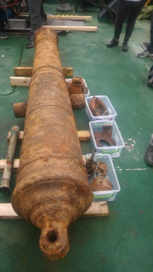 В Турции обнаружили обломки российского военного корабля XVIII века