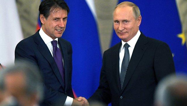 Конте назвал санкции устаревшим инструментом