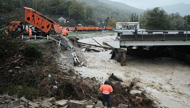 Путин обсудил проблемы ликвидации последствий наводнения на Кубани