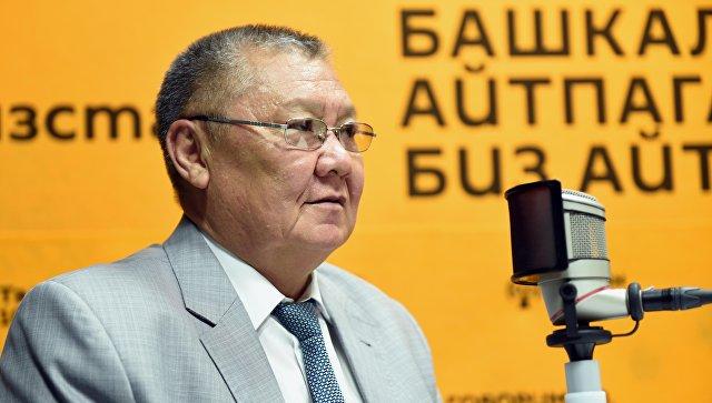 Генерал-лейтенант спецслужб Киргизии Токон Мамытов