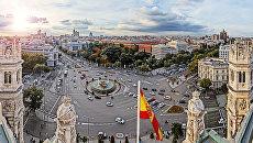 Площадь в Мадриде. Архивное фото