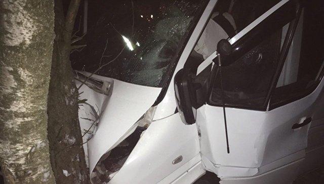 Микроавтобус, попавший в ДТП в Тверской области, был неисправен