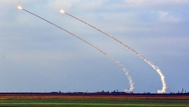 Ракетные учения в Херсонской области, Украина. 2 ноября 2018