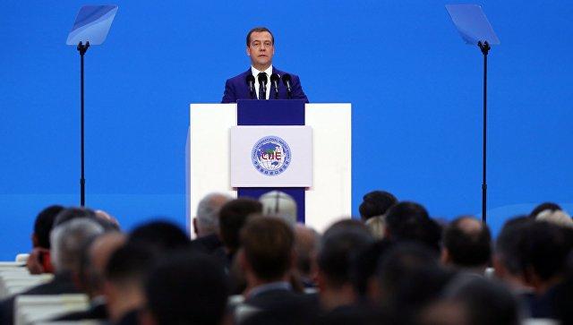 Медведев назвал протекционизм реальностью мировой экономики