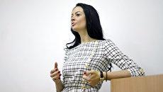 Директор Департамента молодежной политики Свердловской области Ольга Глацких. Архивное фото