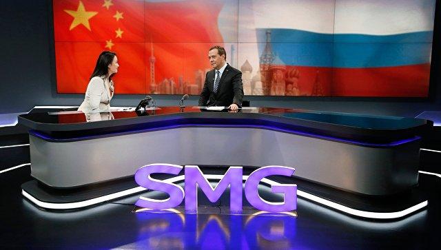 Медведев оценил объем электронной торговли между Китаем и Россией