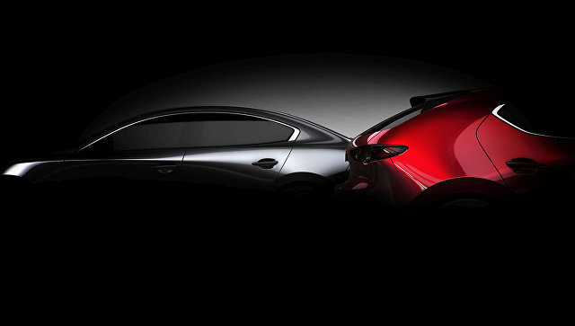 Компания Мазда  представит новую модель  Mazda3 на автомобильном салоне  вЛос-Анджелесе