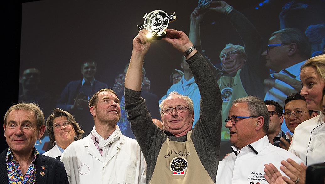 Йорн Харфсунд - победитель премии World Cheese Award 2018