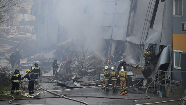 В Петербурге возросло число пострадавших при пожаре в гипермаркете