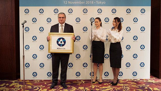 Директор представительства Росатом в Японии Rosatom Japan Сергей Демин