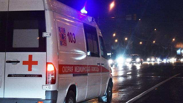 В Ставропольском крае минивэн столкнулся с легковушкой