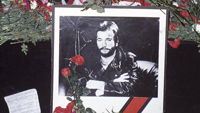 Прощание с погибшим певцом и композитором Игорем Тальковым. Архивное фото