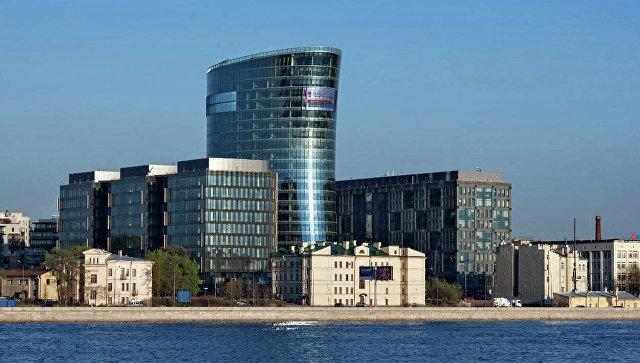 Здание офиса банка Санкт-Петербург
