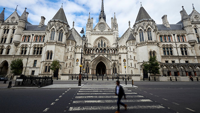 Здание Королевского суда Лондона, в котором находится Высокий суд. Архивное фото